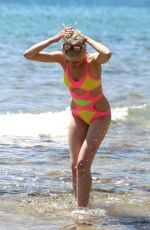 CHLOE JASMINE in Swimsuit at a Beach in Cape Verde 04/20/2018