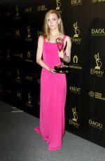 CHLOE LANIER at Daytime Emmy Awards 2018 in Los Angeles 04/29/2018