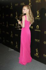 CHLOE LANIER at Daytime Emmy Awards 2018 in Los Angeles 04/29/2018