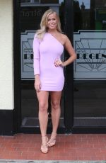 CHLOE MEADOWS on the Set of TOWIE in Essex 04/25/2018