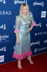 CHLOE MORETZ at Glaad Media Awards 2018 in Beverly Hills 04/18/2018
