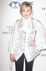 CHLOE MORETZ at Miseducation of Cameron Post Premiere at Tribeca Film Festival 04/22/2018