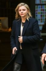 CHLOE MORETZ Leaves Her Hotel in New York 04/20/2018