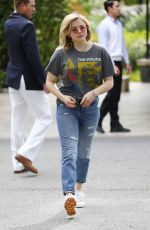 CHLOE MORETZ Leaves Hotel Bel-air in Los Angeles 03/31/2018