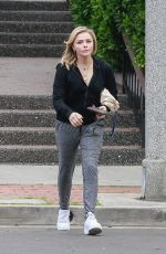 CHLOE MORETZ Out and About in Culver City 04/04/2018