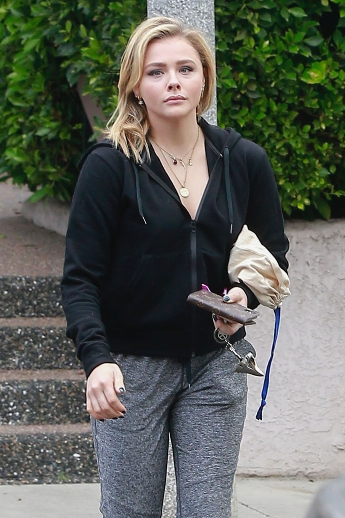 CHLOE MORETZ Out and About in Culver City 04/04/2018 ...