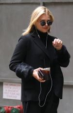 CHLOE MORETZ Out and About in New York 04/19/2018