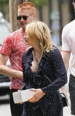 CHLOE MORETZ Out and About in Rome, 04/25/2018