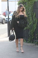 CHLOE SIMS on the Set of TOWIE in Essex 04/25/2018