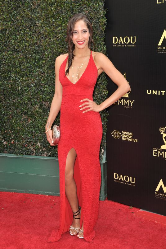 CHRISTEL KHALIL at Daytime Creative Arts Emmy Awards in Los Angeles 04/27/2018