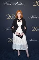 CHRISTINA HENDRICKS at Brooks Brothers Bicentennial Celebration in New York 04/25/2018
