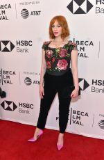 CHRISTINA HENDRICKS at Egg Premiere at Tribeca Film Festival 04/21/2018