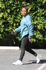 CHRISTINA MILIAN Out and About in Studio City 04/18/2018