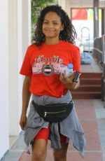 CHRISTINA MILIAN Out in Studio City 04/03/2018