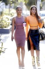 CHRISTINA MILIAN Out with Her Sister in West Hollywood 04/11/2018