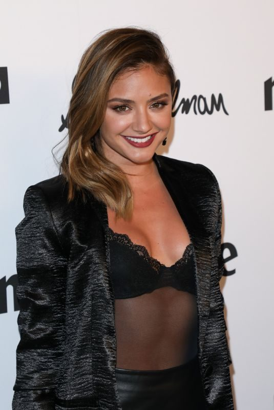 CHRISTINE EVANGELISTA at Marie Claire Fresh Faces Party in Los Angeles 04/27/2018