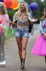 CHRISTINE MCGUINNESS at Real Housewives of Cheshire Finale in Warford 04/07/2018