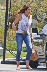 CINDY CRAWFORD Out and About in Malibu 04/28/2018