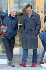 CLAIRE DANES and Hugh Dancy Out in New York 04/20/2018