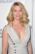 CLAIRE DANES at Tribeca Talks Storytellers in New York 04/26/2018