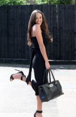CLELIA THEODOROU on the Set of TOWIE in Essex 04/25/2018