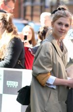 CLEMENCE POESY Leaves Build Series in New York 04/20/2018