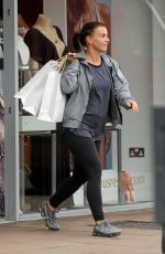 COLEEN ROONEY Out Shopping in Wilmslow 04/18/2018