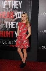 COMFORT CLINTON at A Quiet Place Premiere in New York 04/02/2018