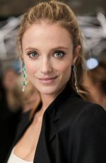 CONSTANCE JABLONSKI at Jacob & Co. Flagship Store Re-opening in New York 04/26/2018