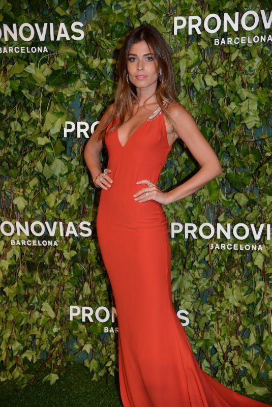 CORAL SIMANOVICH at Pronovias Fashion Show in Barcelona 04/23/2018