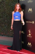 COURTNEY HOPE at Daytime Creative Arts Emmy Awards in Los Angeles 04/27/2018