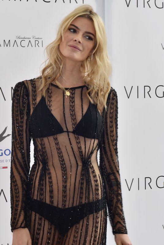CRISTINA TOSIO at Virginia Macari Fashion Show in Marbella 04/25/2018