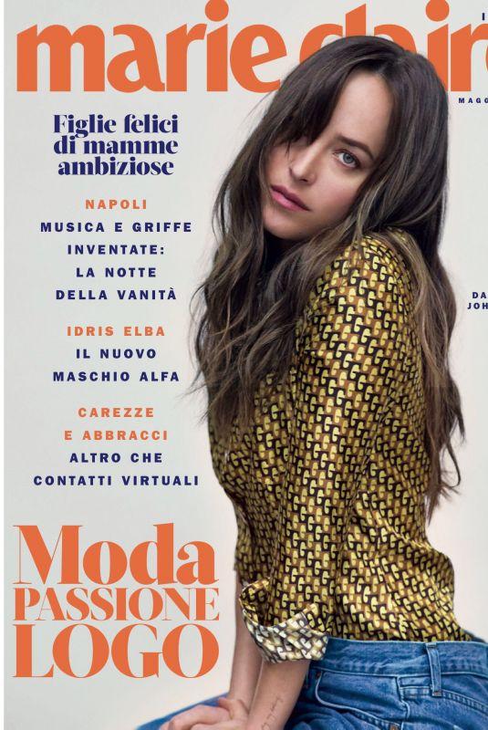 DAKOTA JOHNSON in Marie Claire Magazine, Italy May 2018