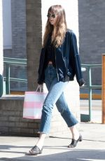 DAKOTA JOHNSON Out Shopping in Los Angeles 04/04/2018