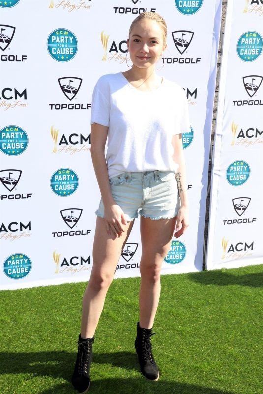 DANIELLE BRADBERY at ACM Lifting Lives Topgolf Tee-off in Las Vegas 04/14/2018