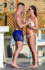 DANIELLE LLOYD in Bikini at a Pool in Dubai 04/02/2018