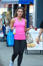 DANNI DYER Out Shopping in Essex 04/20/2018