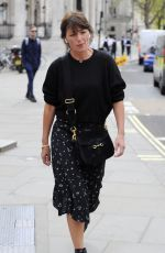 DAVINA MCCALL Out in London 04/23/2018