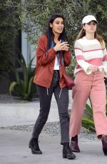 DEBBY RYAN Out and About in Los Angeles 04/22/2018