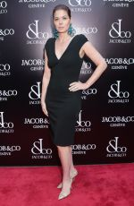 DEBRA MESSING at Jacob & Co. Flagship Store Re-opening in New York 04/26/2018
