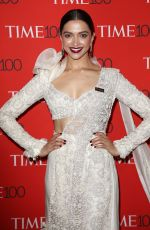 DEEPIKA PADUKONE at Time 100 Most Influential People 2018 Gala in New York 04/24/2018