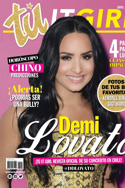 DEMI LOVATO in IT Girl Magazine, Chile April 2018 Issue