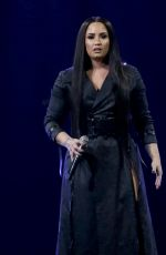 DEMI LOVATO Performs at Her Tell Me You Love Me Tour at Prudential Center in Newark 04/02/2018