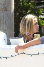 DENISE RICHARDS Out for Lunch in Malibu 04/24/2018