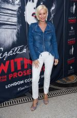 DENISE VAN OUTEN at Witness for the Prosecution by Agatha Christie Play in London 04/25/2018