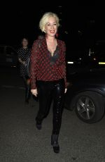 DENISE VAN OUTEN Night Out at Menagerie in Manchester 04/01/2018