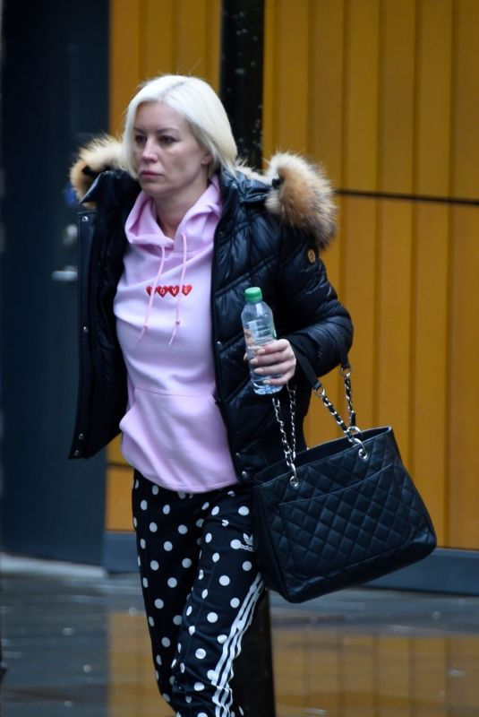 DENISE VAN OUTEN Out in Manchester 04/02/2018