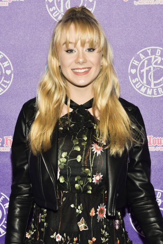 DEVORE LEDRIDGE at Hayden Summerall's 13th Birthday Bash in Hollywood 04/15/2018