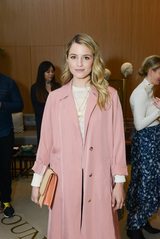 DIANNA AGRON at Foundrae Store Opening in New York 04/12/2018