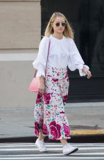 DIANNA AGRON Out and About in New York 04/13/2018